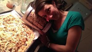 ik en mijn taart
